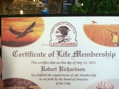 North American Hunting Club - Membership Review from Toledo, Ohio