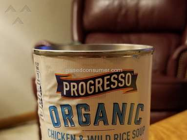 Yuck! Progresso Organic Chicken and Wild Rice Soup