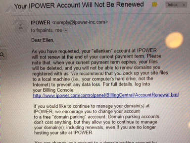 Ipower Hosting review 132123