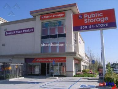 Public Storage Moving and Storage review 74983