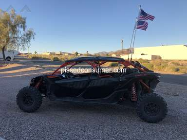 Ride Now Motorsports Peoria AZ - Just Purchased a 2018 Can Am X3 Max on Friday