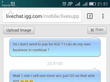Igg - They are scammers
