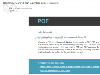 How to get my pof account back