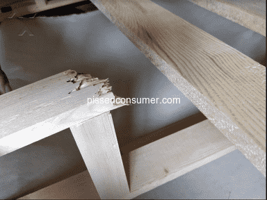Plushbeds - Orthopedic bed frame broke with a in year