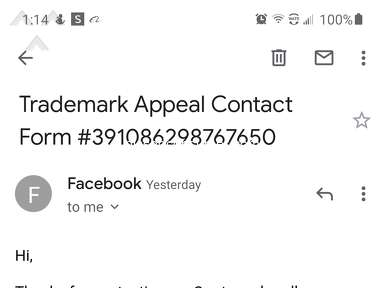 Facebook Account review 850694
