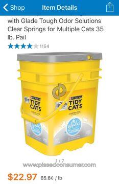 Nestle Purina Petcare Company Tidy Cats Pet Litter