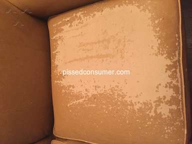 Lazboy - La-Z-Boy leather flaking on sofa