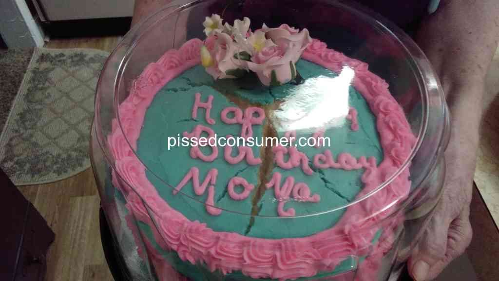 Resolved Food Lion Split birthday cake terriable Apr 17 2018