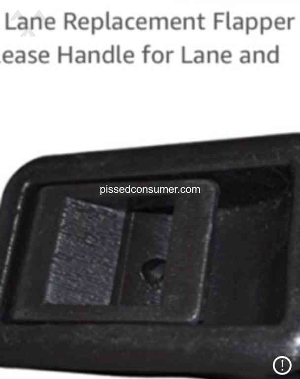 Lane Furniture Dual Reclining Sofa And Love Seat Pull Handles Snap In Half