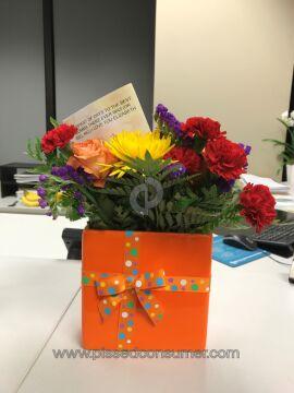 Gifttree Brilliant Birthday Blooms Arrangement