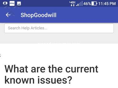 The Goodwill online auction is a risk no one should take.