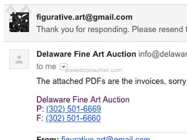 Delaware Fine Art Auction Shipping Service review 225400