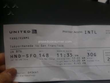 United Airlines - United airline made me miss my plane!!!
