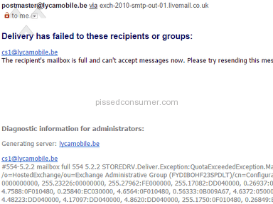 Lycamobile - The worst company of the worst ones