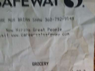 Safeway Food Stores review 202714