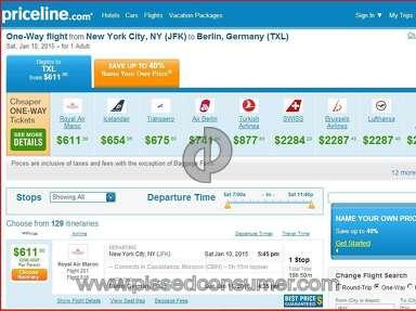 Priceline Travel Agencies review 56153