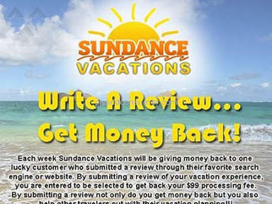 Sundance Vacations Travel Agencies review 10137