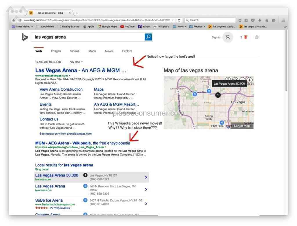 7 Tag Bing Search Reviews and Complaints @ Pissed Consumer