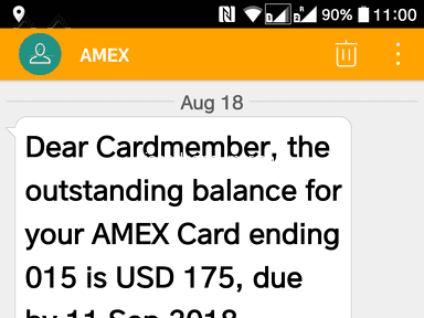 American Express - AMEX = Pure Harassment