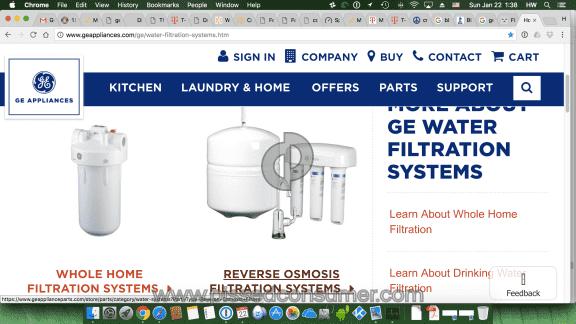 Ge Appliances Filtration System