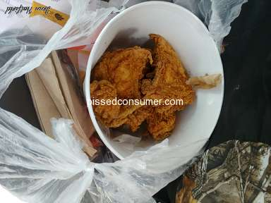 Kfc - Wheres my,food???- 6pcs,of,CHICKEN for,25$