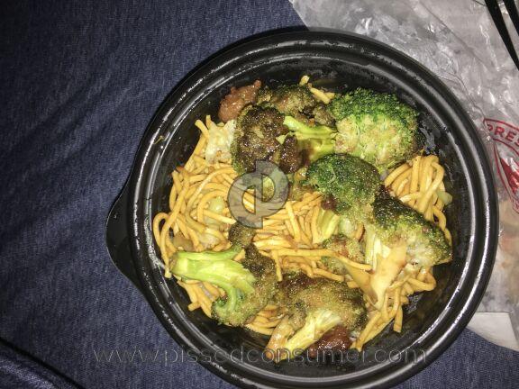 Panda Express Broccoli Beef Main Course