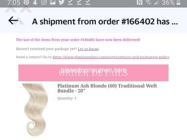 Glam Seamless Human Hair Extension review 607919