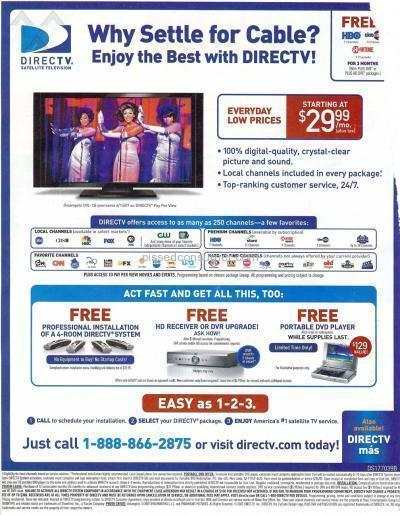 Directv False Advertising and No Customer Service Aug 04, 2008 ...