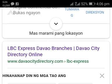 LBC Express Customer Care review 324970