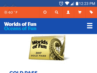 Worlds Of Fun Customer Care review 208720
