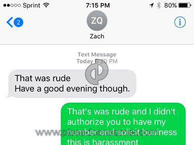 Att - Rude *** door to door sales rep. For At&t