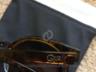 Quay Eyeware - QUAY AU bad quality, worse service