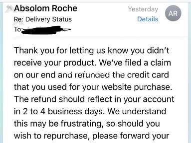 Absolom Roche - Total scam