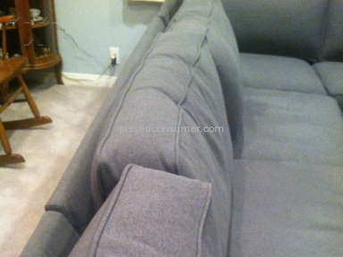 Living Spaces Sofa review 107635