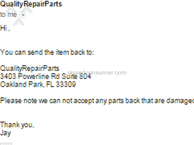 Qualityrepairparts Telecommunications review 73937