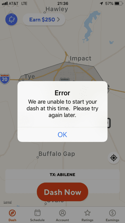 Greenbelt Bowl ⁓ Try These Dasher App Unable To Load Data