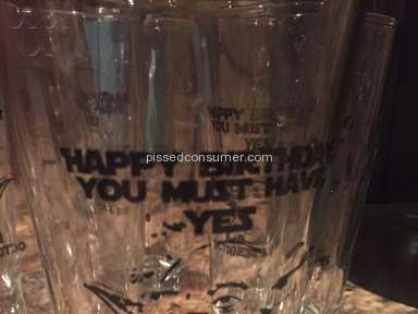 Discountmugs Custom Glass Review from Cayce, South Carolina