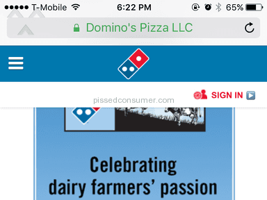 Dominos Pizza - Delivery Service Review