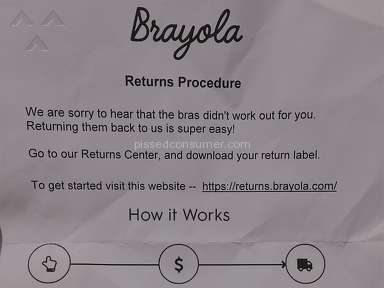Brayola - $6 Label fee not disclosed