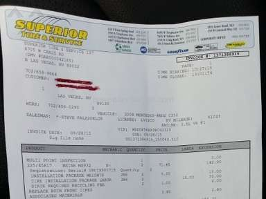 Goodyear Tires Review from North Las Vegas, Nevada