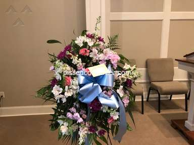 FlowerShopping - MEMORIAL SERVICE FOR 8 MONTH BABY GIRL DISGRACEFUL ARRANGEMENT