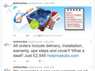 HotPriceTubs Hot Tub review 188408