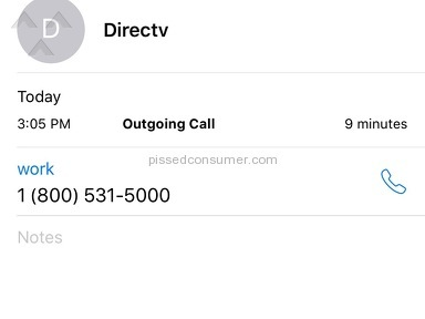 Directv Customer Care review 184782