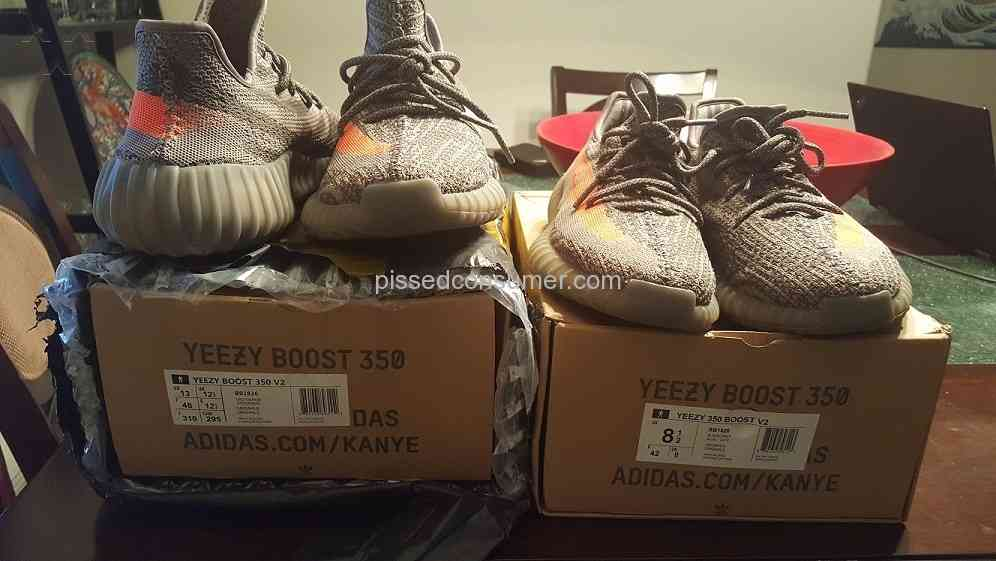 c7203f63f493a Dhgate - Very first pair of Yeezy Boost V2 Apr 27