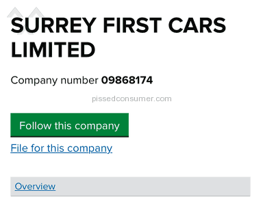 Surrey First Cars - Review in Dealers category