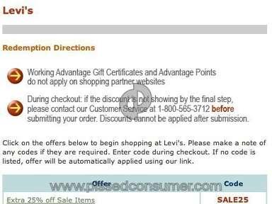 Working Advantage E-commerce review 5885