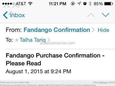 Fandango Movie Ticket review 81545
