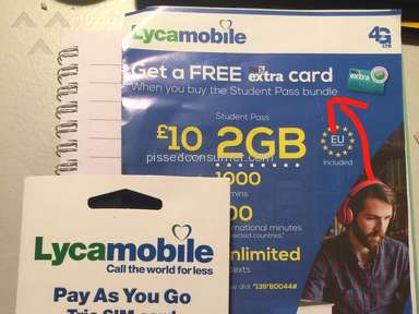Lycamobile is a scam