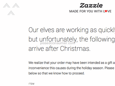 Zazzle - NEVER  use this company- CROOKS and MORONS