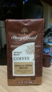 Harry And David Vanilla Creme Brulee Coffee